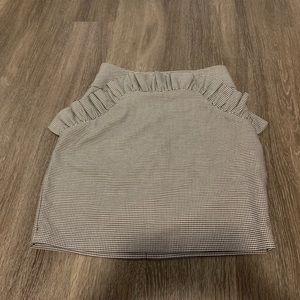 Brand New Houndstooth Miniskirt Us size 6